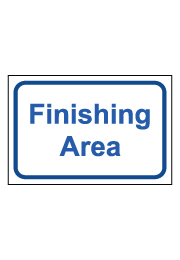 שלט - Finishing Area