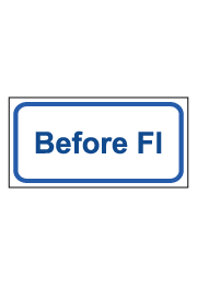 שלט - Before FL