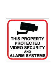 שלט - VIDEO SECURITY AND ALARM SYSTEMS